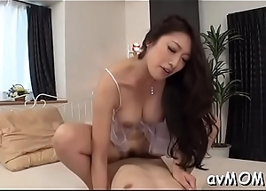Lustful mommy fondled and fucked