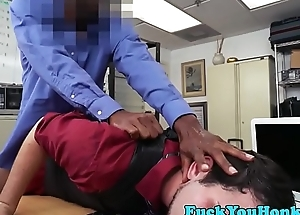 Twink amateur assfucked during sex casting