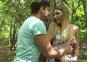 Dane Jones Natural tits Serbian teen takes paramours fat cock in forest sex