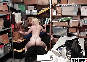 Punishment Is Education For Sexy Teen Jacker