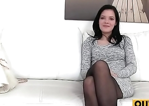 Fit Skinny Model Enticed by Agent(Anie Darling) 01 clip-05