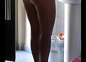 Mature naked mom Voyeur real hidden spy web camera shower milf ass nude wife homemade