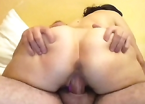deep face hole and fucking with toy and cock at the same time session 59