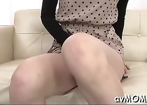 Hot mommy seduces two horny dudes