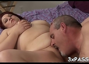 Fat cutie gets nailed well