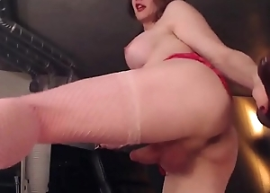 Blonde MILF has a big surprise and big ending