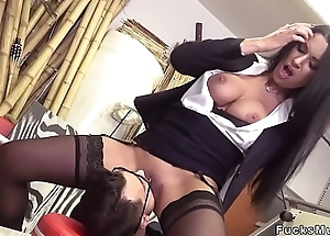 Huge interior Milf banging and squirting