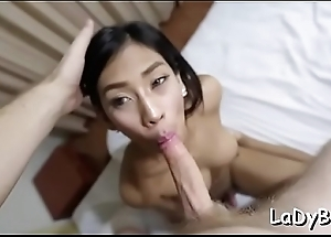 Sissy lady-man craves be expeditious for anal sex