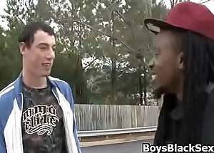 Blacks on boys - Gay Interracial Nasty Fuck Video 04