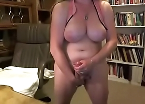 Thick Mature Shemale w/ Fat Cock and Brawny Tits
