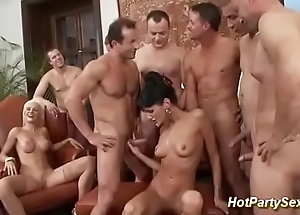 extreme double penetration sex party