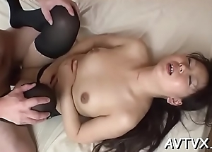 Banging a smutty hawt asian love tunnel
