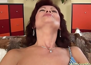 hairy moms real orgasm